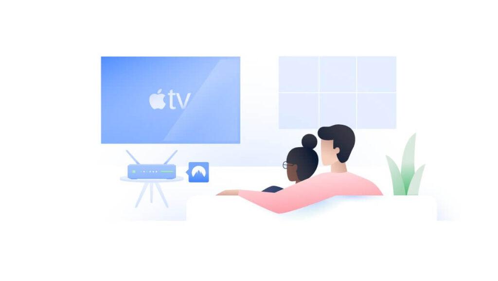 setup vpn apple tv